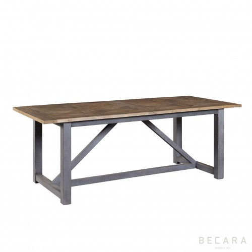 Mesa de comedor Camargue Weather gris - BECARA
