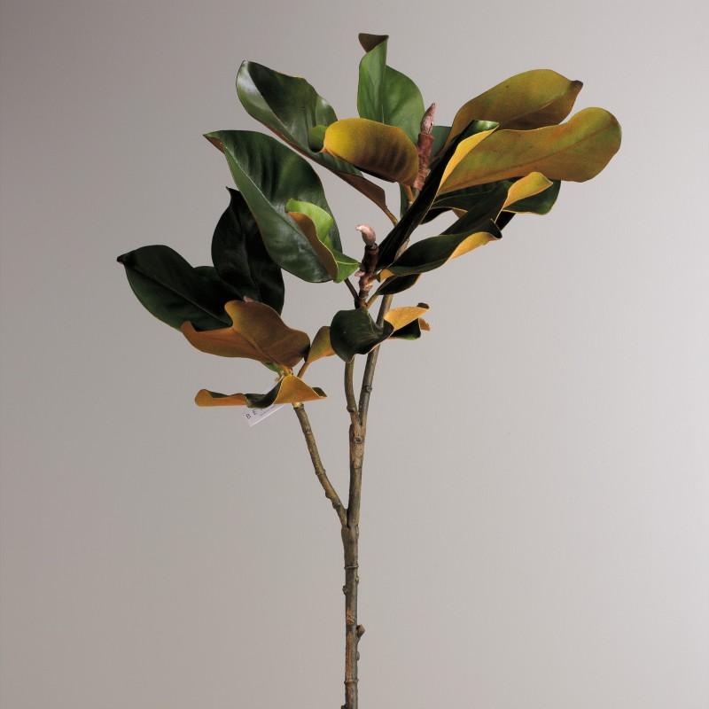 100cm Magnolia leaves branch