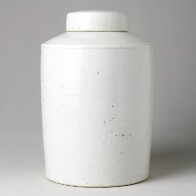 WHITE ROUND TIBOR