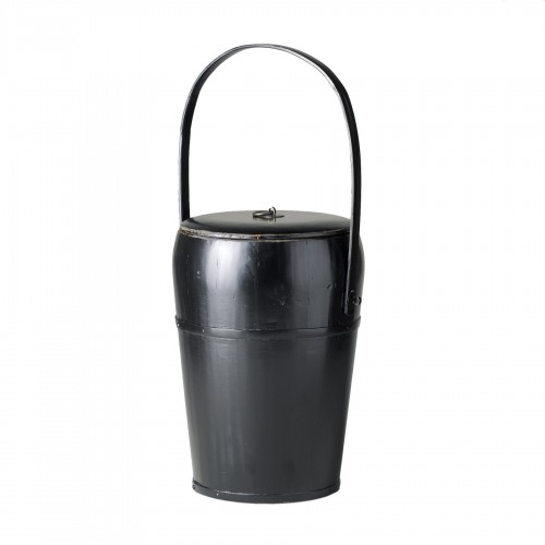 Contenedor negro con asa