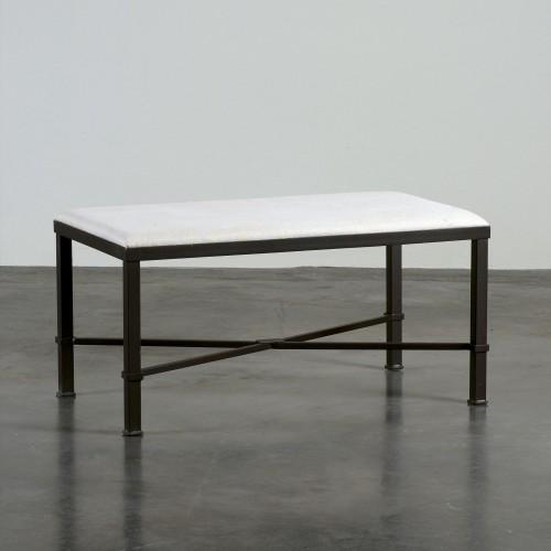 Black and white Roma stool