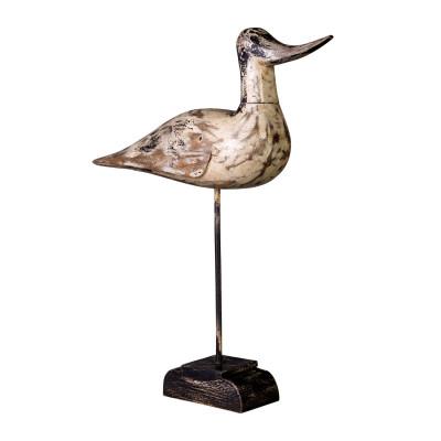Pájaro macho en stand