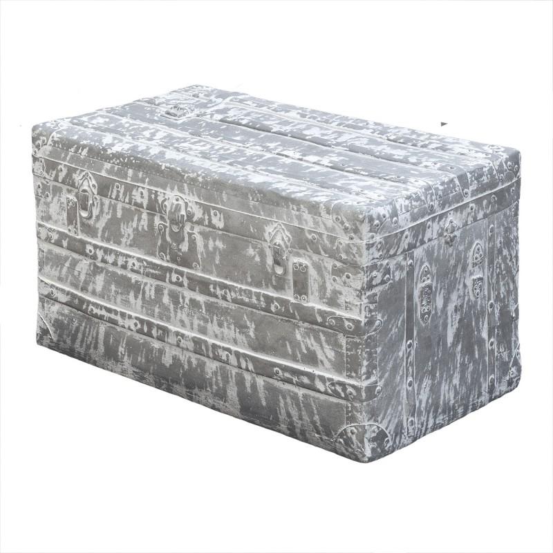 Figura maleta grande gris y blanco - BECARA