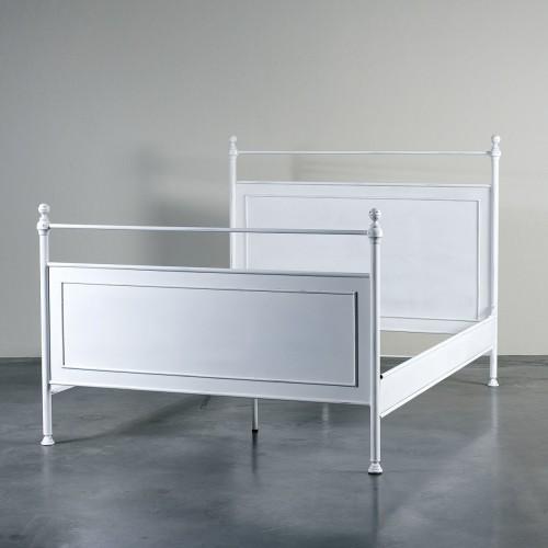 Cama de hierro blanco - BECARA