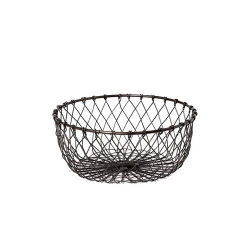 Round wire bread basket