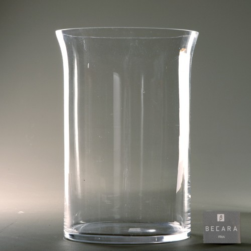 Big glass flowerpot