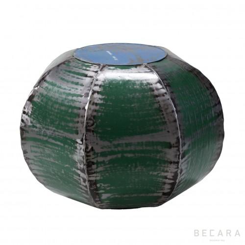 Mesa-Puff heptagonal verde
