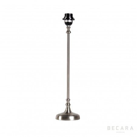 Thin metal table lamp