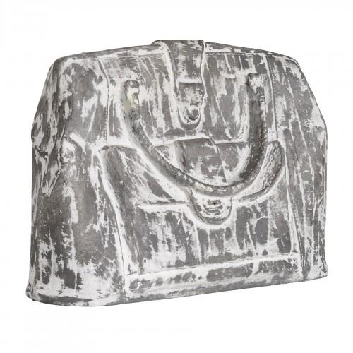 Figura bolso gris y blanco - BECARA