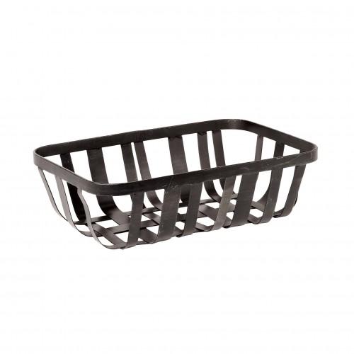 Zinc strips bread basket