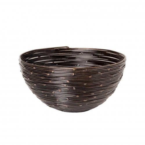 Bronze wire bowl