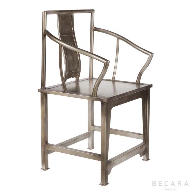 Butaca plateada - BECARA
