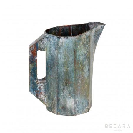 Geometric metal jug