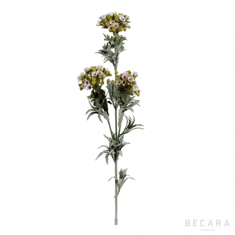 Rama de flor blanca 78cm - BECARA