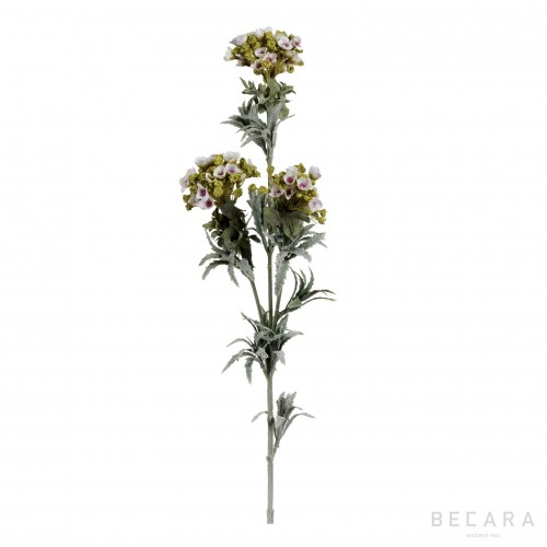 78cm white flower branch