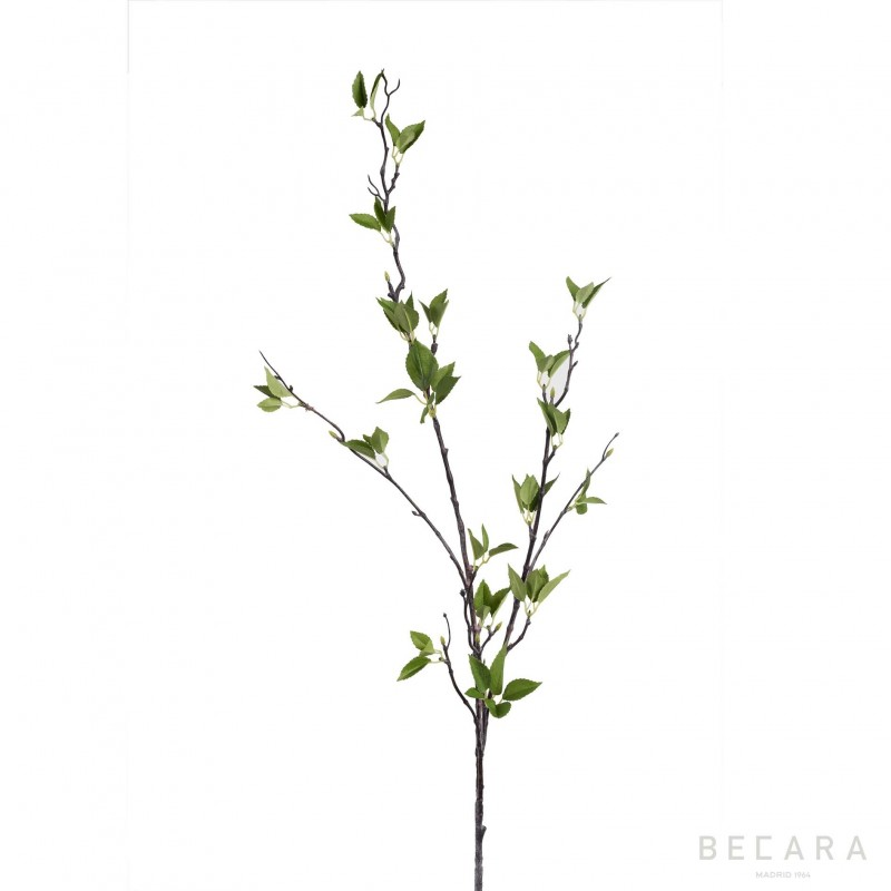 119cm wild leaves branch