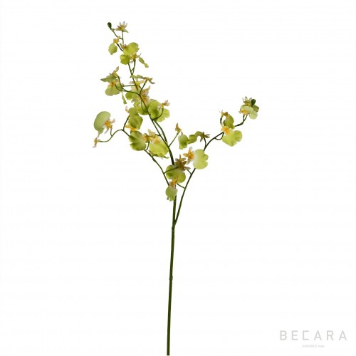 81cm yellow Orchid branch