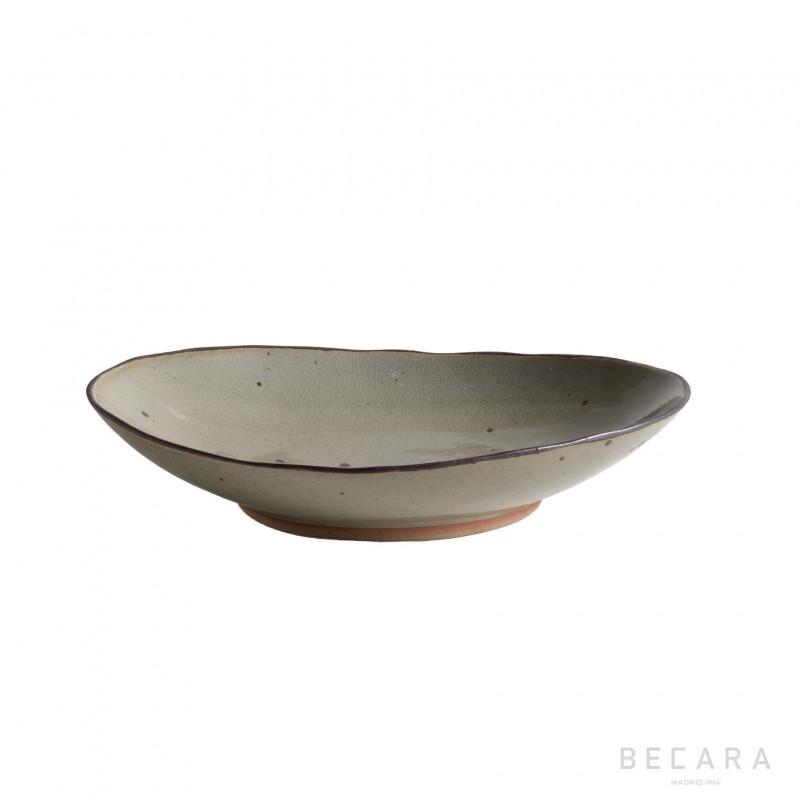 Plato ovalado grande Narita - BECARA