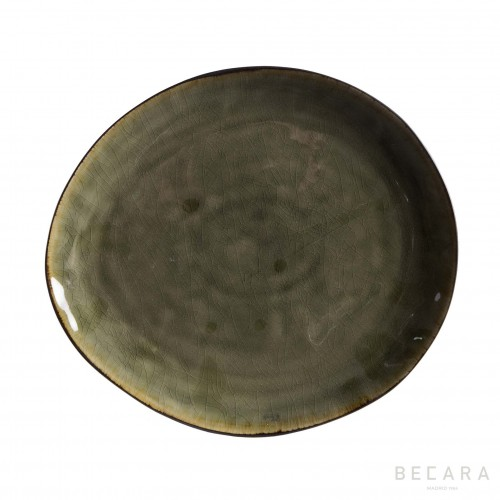Provence oval flat platter