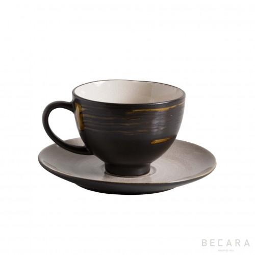Volcano tea cup