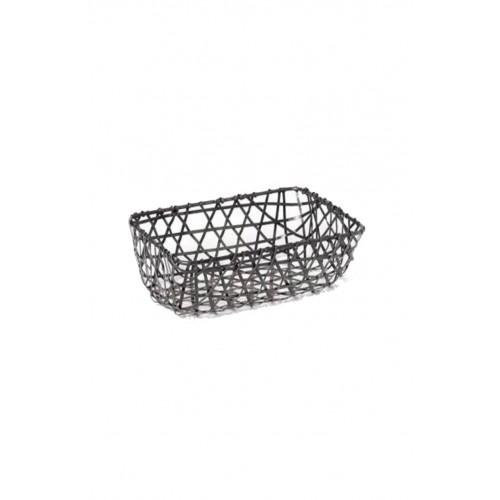 Rectangular zinc strips bread basket