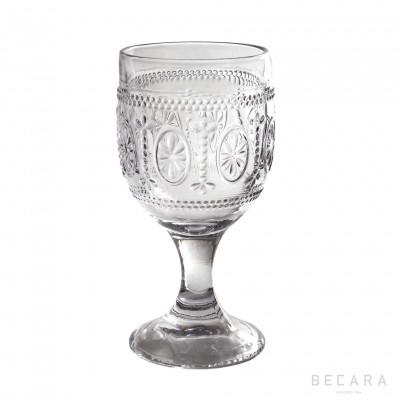 VICTORIA TRANSP. WATER GLASS