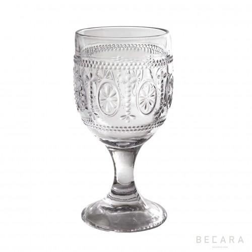 Copa de agua Victoria transparente - BECARA