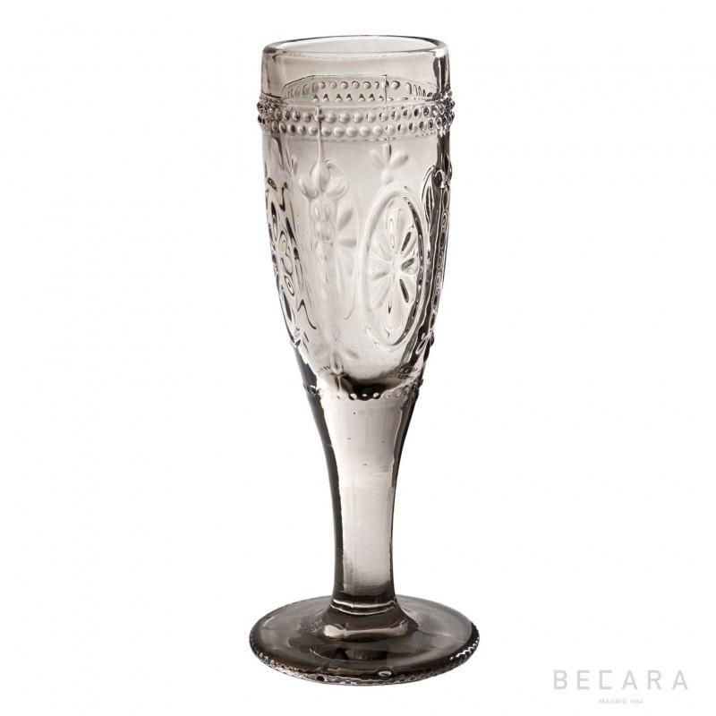 Copa de champagne Victoria ahumada - BECARA