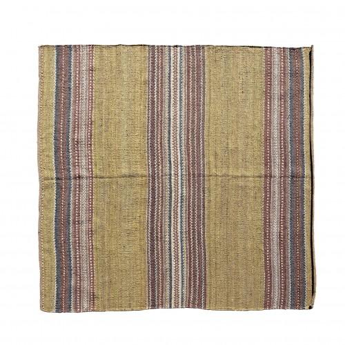 300x300cm stripes jute rug