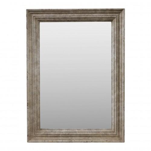 Espejo de madera crema 95x130cm