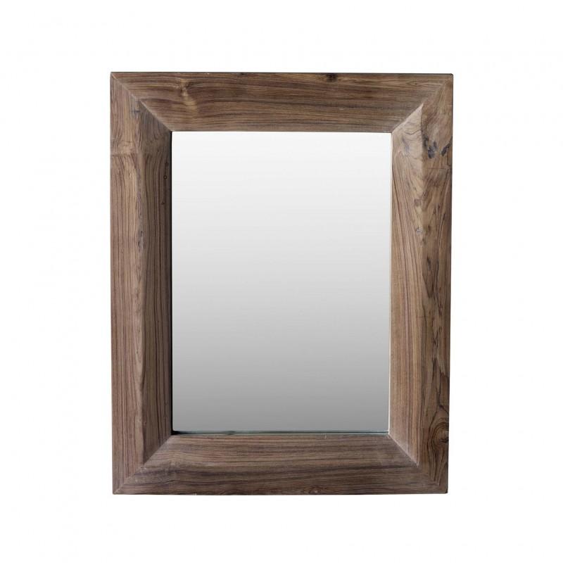 Espejo de teca 76x66cm - BECARA