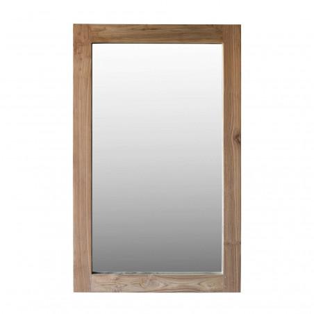 Espejo de madera natural 160x100cm