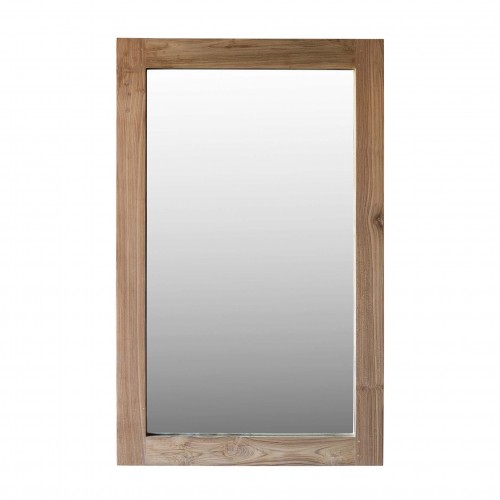 160x100cm natural wooden mirror
