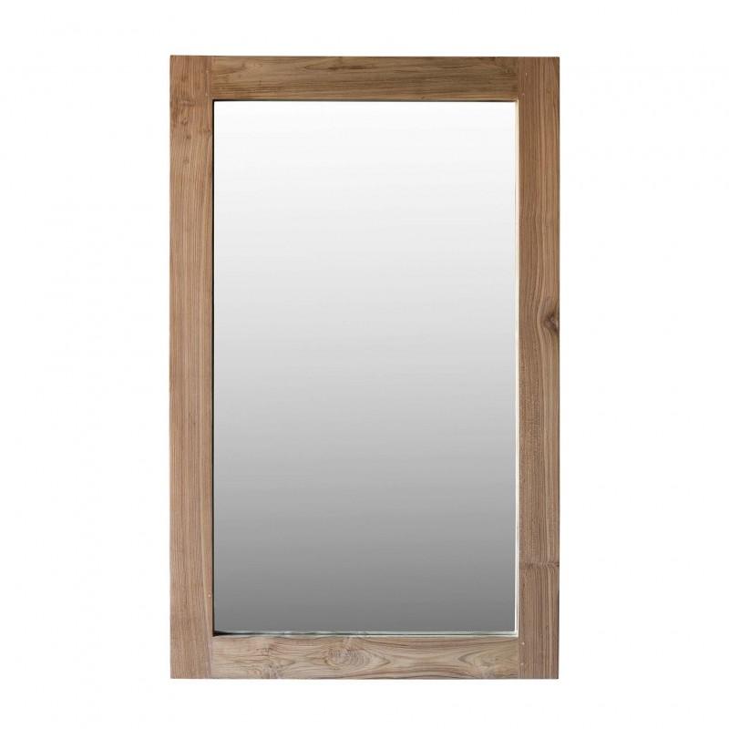 Espejo de madera natural 160x100cm - BECARA
