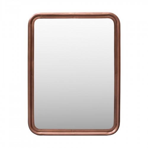 Espejo de hierro cobrizo 76x106cm - BECARA