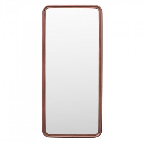 Espejo de hierro cobrizo 86x191cm