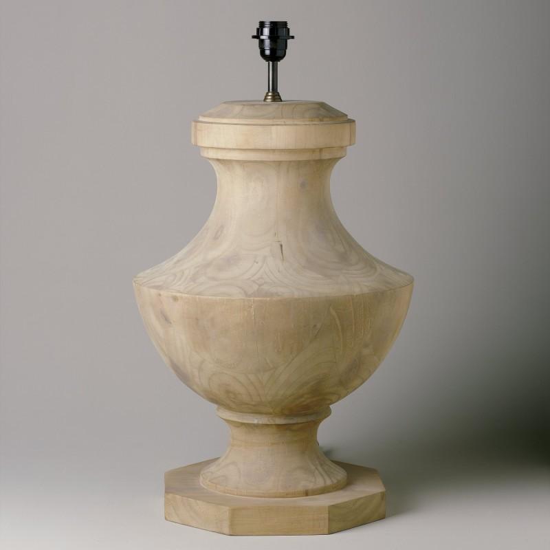 Lámpara de mesa con base octogonal - BECARA
