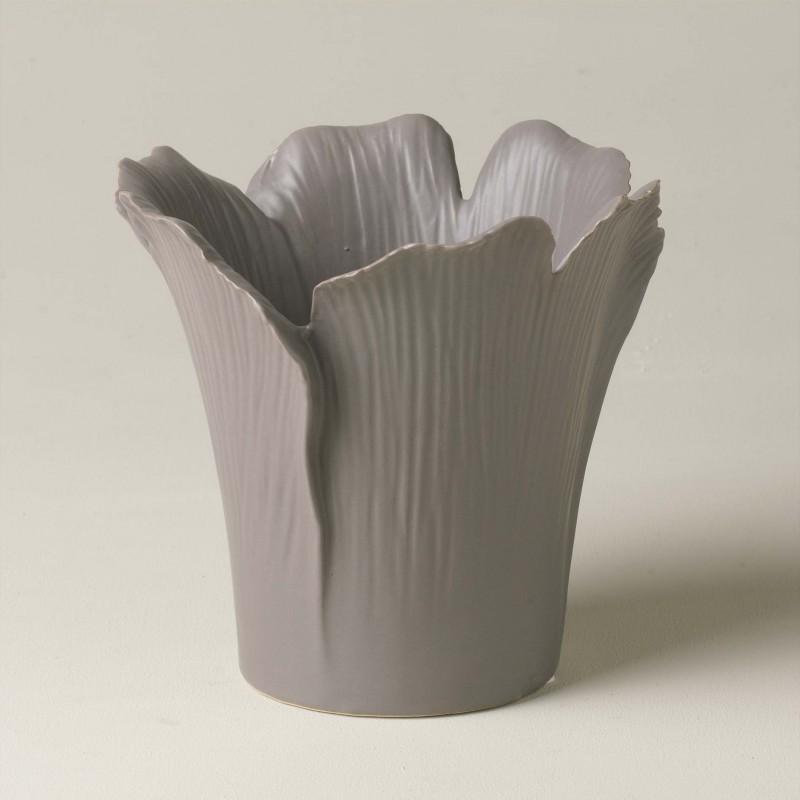 Florero de hojas grises - BECARA