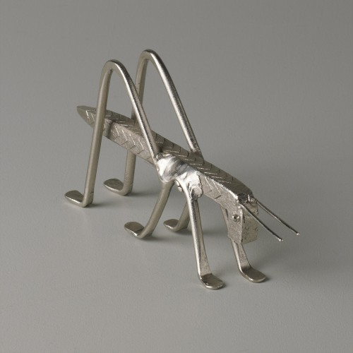 Iron nickel-plated grasshopper