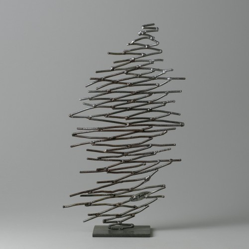 Small steel tree