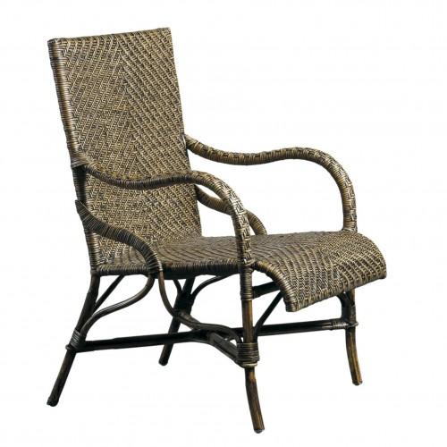 Paul black armchair