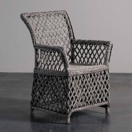 Grey Nimes armchair
