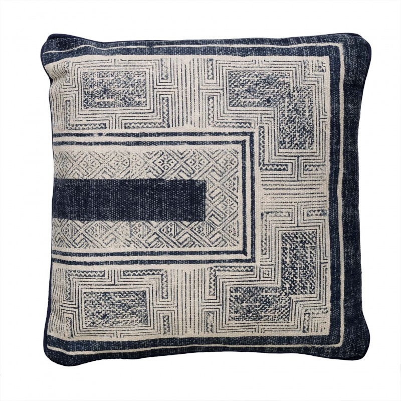 50x50cm dark blue cushion