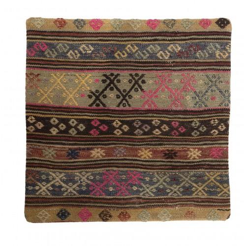 60x60cm stripes kilim cushion