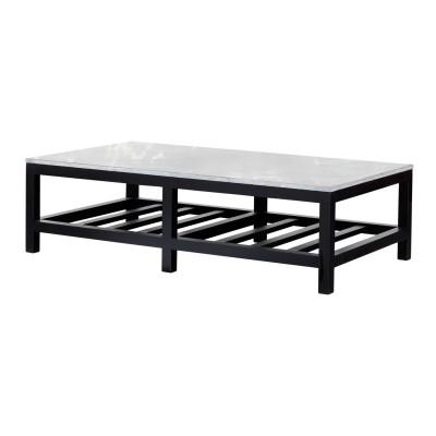 STONE CAP BLACK DEAUVILLE TABLE