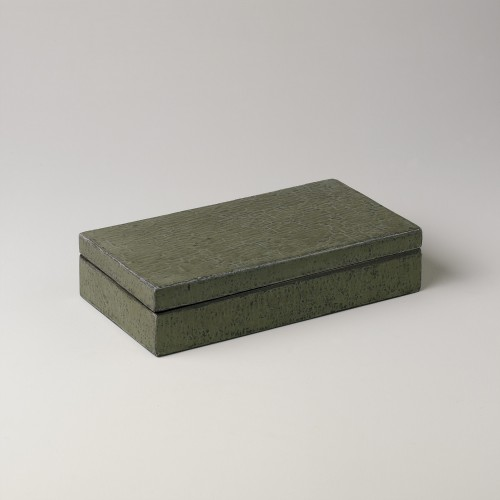 Medium green lentil finish box
