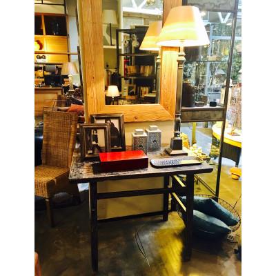 Lámpara de mesa metálica 93cm - BECARA
