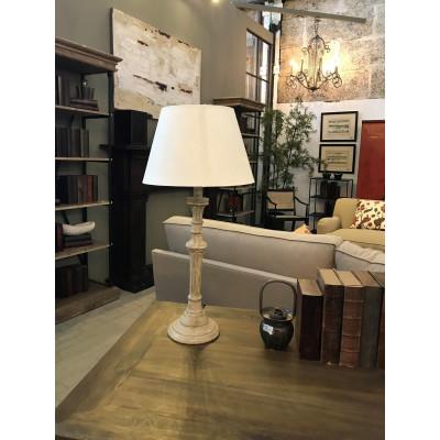 Column shape table lamp