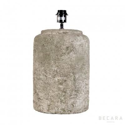 Ø25cm greenish stone table lamp