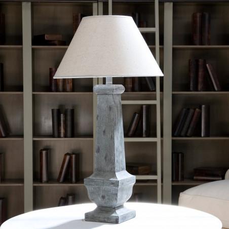Lámpara de mesa Nicolette azul